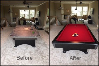expert pool table recovering in Kent content img3
